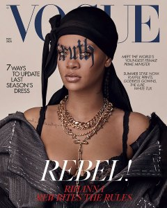 See How Rihanna Just Made History on the May 2020 'British Vogue' Cover