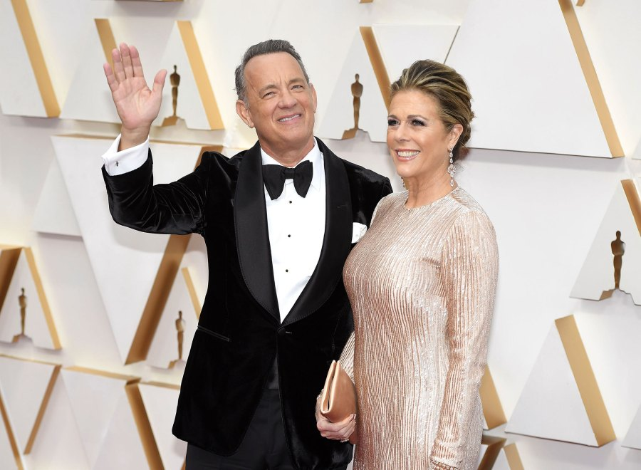 Rita Wilson and Tom Hanks 92nd Annual Academy Awards Update Coronavirus
