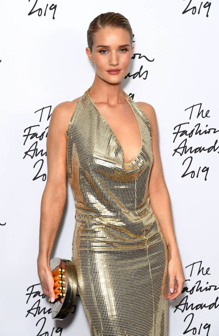 Rosie Huntington-Whiteley Reveals the Challenge of Quarantining With Her Son
