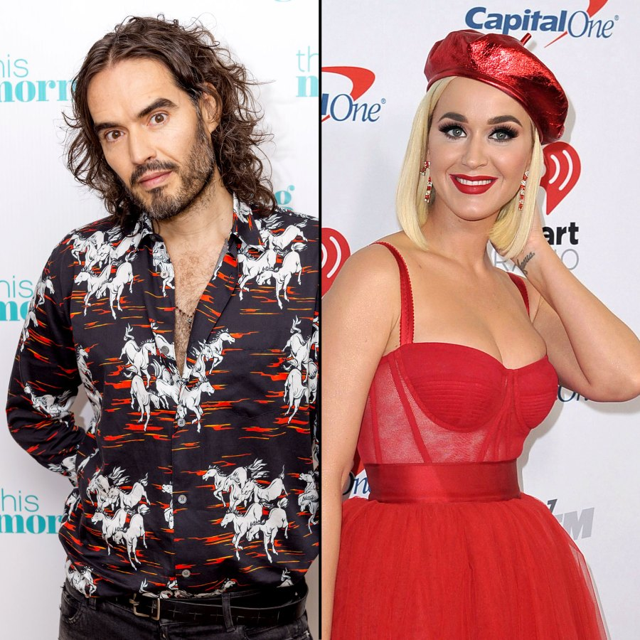 Russell Brand Gets Real About Heartbreak After Katy Perry Baby News
