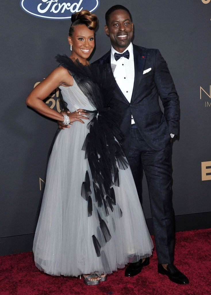 Ryan Michelle Bathe, Sterling K. Brown NAACP Image Awards