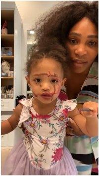 Serena Williams Instagram Coronavirus Activities
