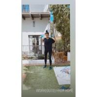 Shay Mitchell peanutbutter jar workout