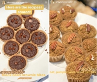 Shayna Taylor Carrot Cake Muffins