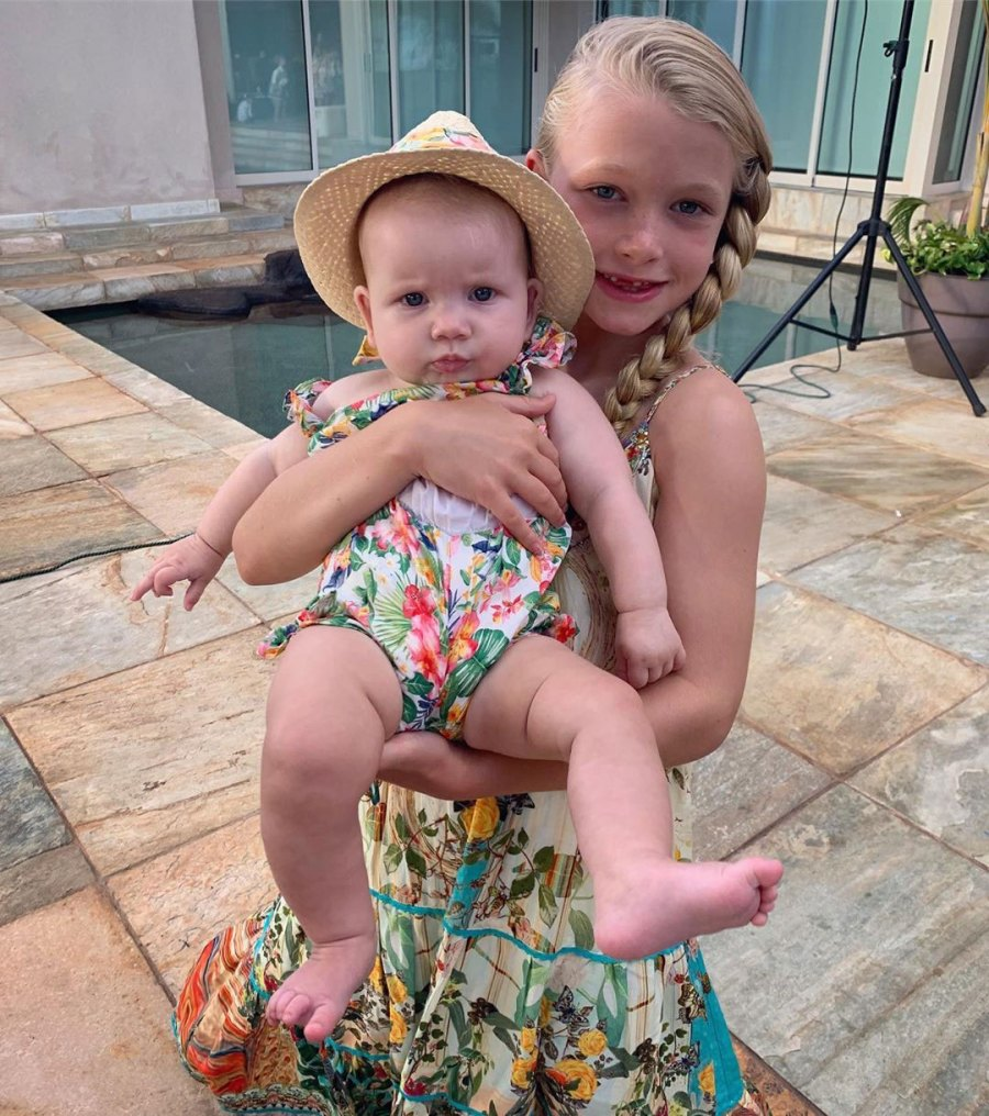 Sister Sister Jessica Simpson and Eric Johnson Daughter Birdie Cutest Pics