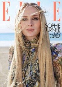Sophie Turner Elle April 2020 Cover
