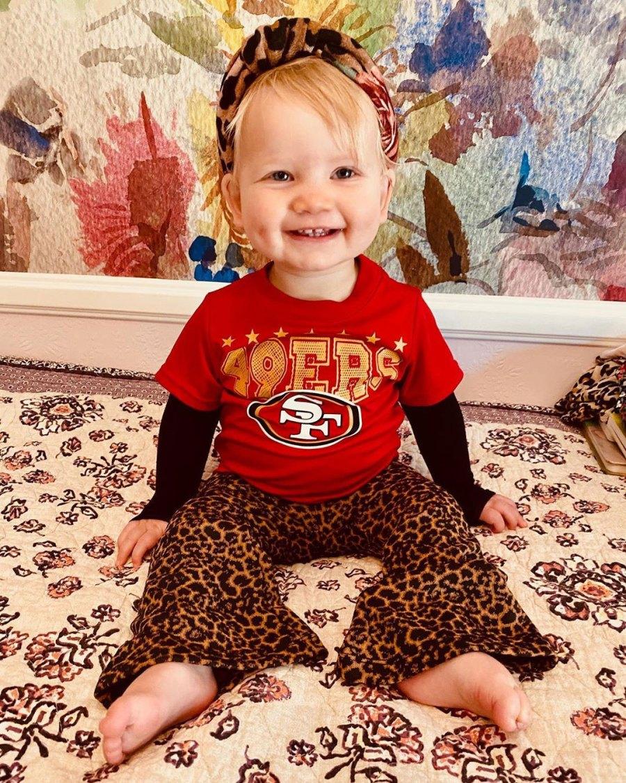 Sports Fan Jessica Simpson and Eric Johnson Daughter Birdie Cutest Pics