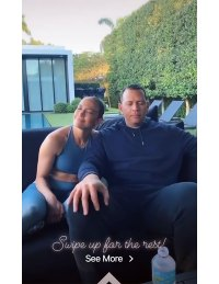 Stars At Home - Jennifer Lopez and Alex Rodriguez