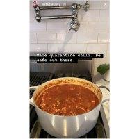 Dan Levy Stars Cooking Amid Coronavirus