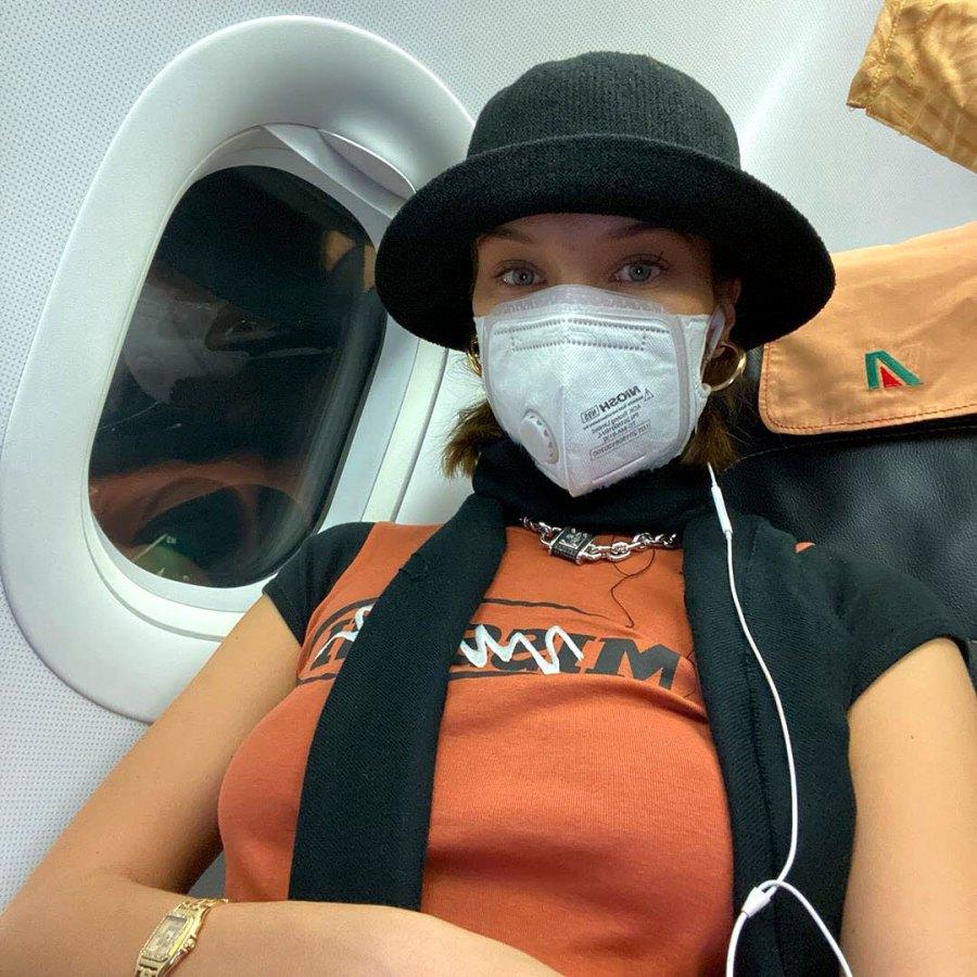 Bella Hadid Stars Prepare Coronavirus Infection With Masks More
