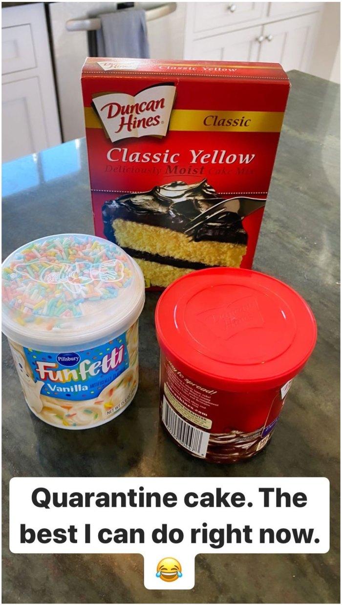 Stassi Schroeder Makes Beau Clark a Quarantine Cake for His Birthday