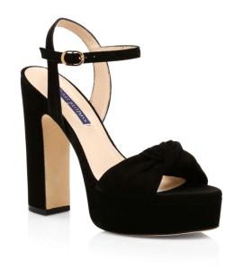 Stuart Weitzman Mirri Suede Platform Sandals