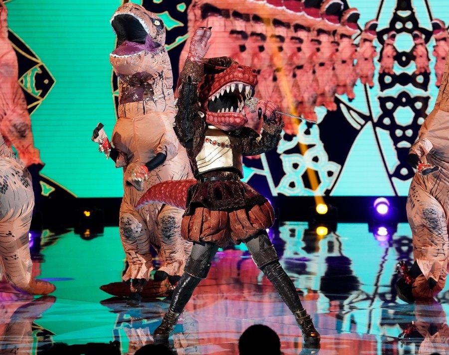 T Rex Masked Singer2