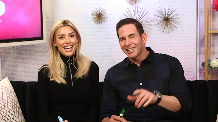Tarek El Moussa and Heather Rae Young Play Newly Dating Game