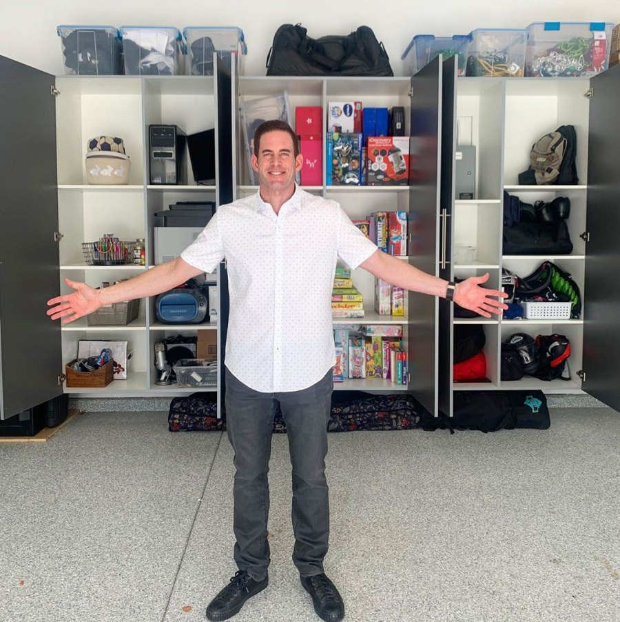 Tarek-El-Moussa-and-Heather-Rae-Young-Show-Off-Their-Organized-Pantry,-Closets-and-More