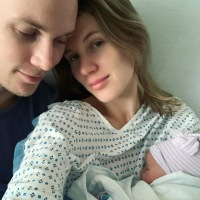 Tessa Hilton Gives Birth, Welcomes Her and Husband Barron's 1st Child