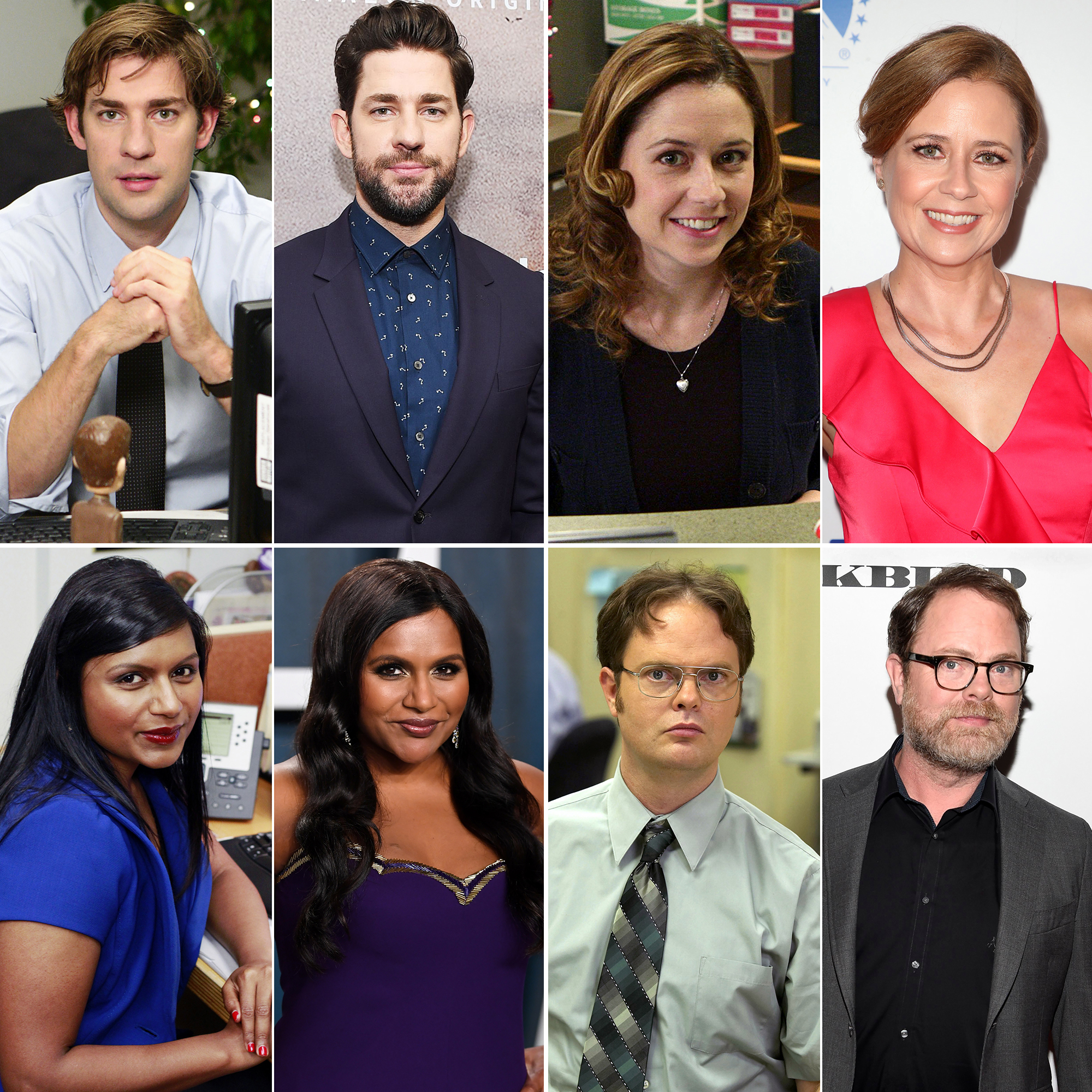 The Office Cast Then And Now