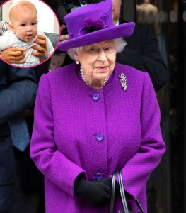The Queen Would Love to Have a Relationship With Harry Son Archie