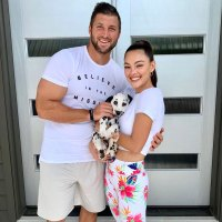 Paris Tim Tebow and Demi-Leigh Nel-Peters Welcome Three New Puppies