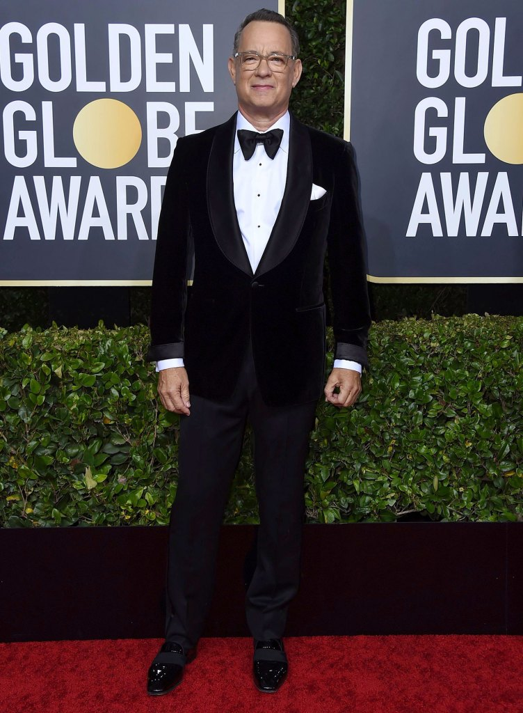 Tom Hanks Update Coronavirus Golden Globe