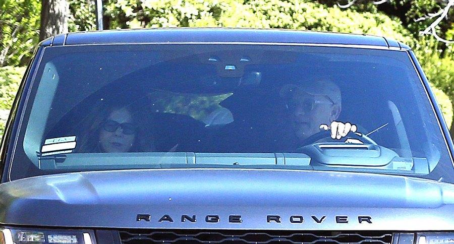 Tom Hanks and Rita Wilson Arrive Back in LA Coronavirus