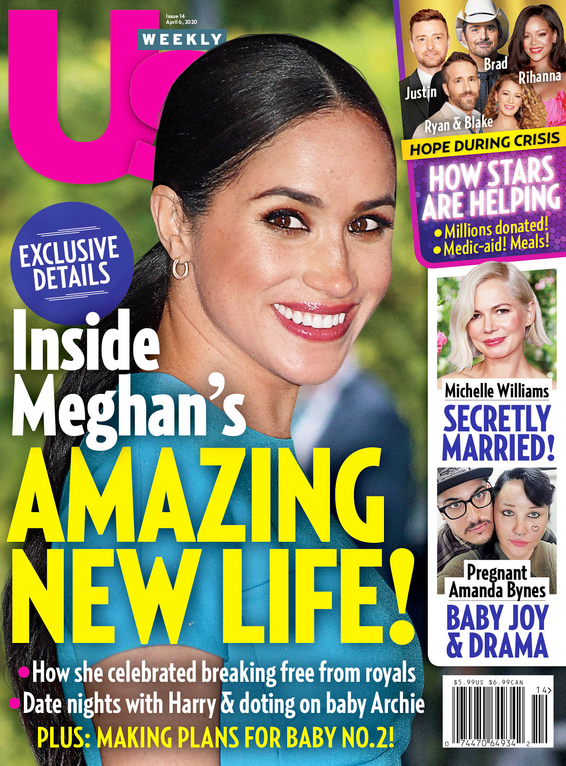 Us Weekly Cover Issue 1420 Meghan Markles Amazing New Life