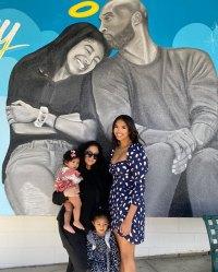 Vanessa, Bianka and Capri Natalia Bryant Instagram Vanessa's Motherhood Moments