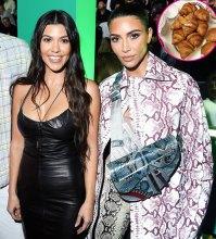 What Kim and Kourtney Kardashian Are Eating in Paris During Fashion Week