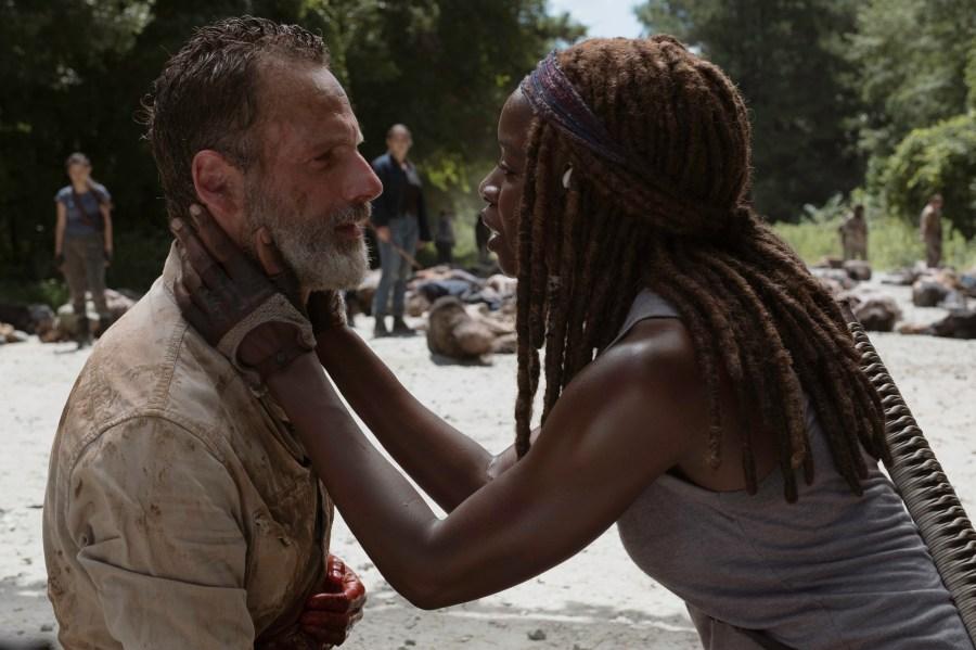 Andrew Lincoln Danai Gurira The Walking Dead