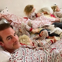 James Van Der Beek How Celebrity Parents Are Keeping Their Kids Busy While Self-Quarantining Amid Coronavirus