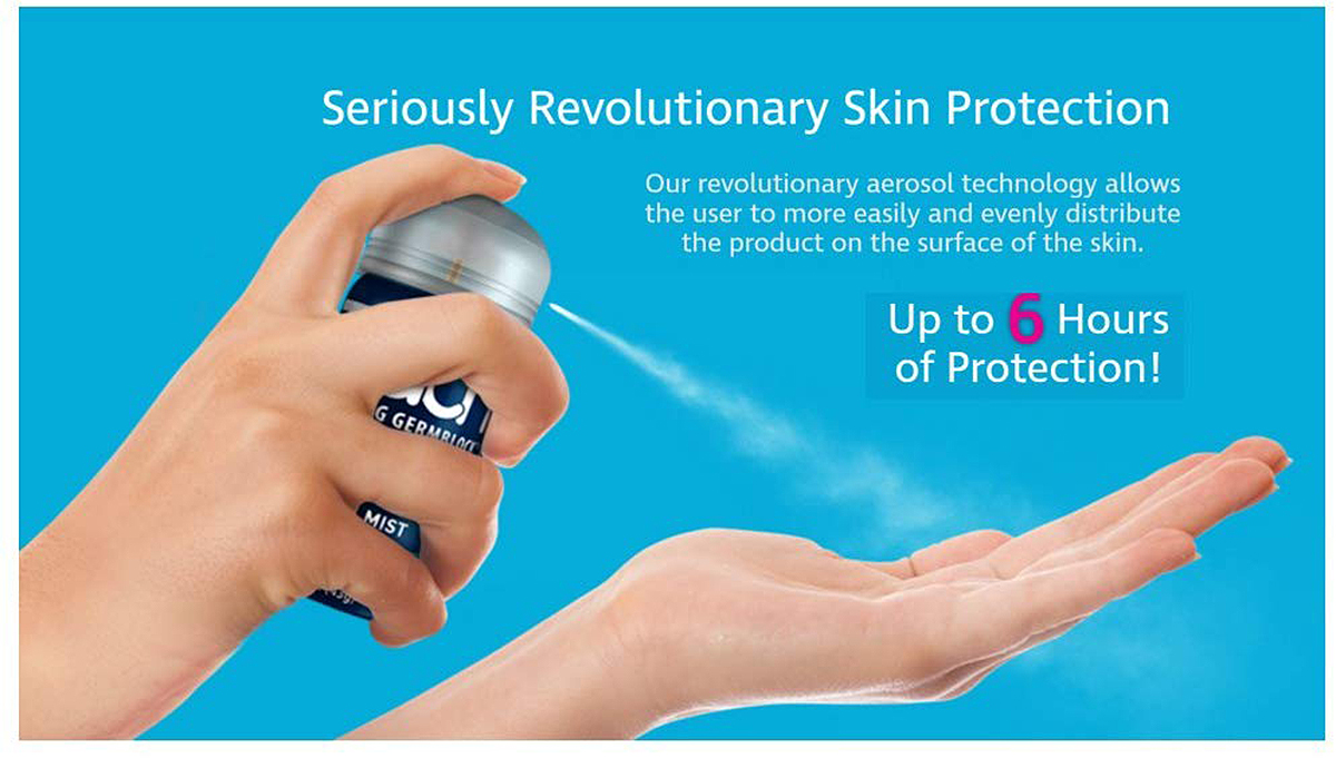 Touch Sanitizing Germblock