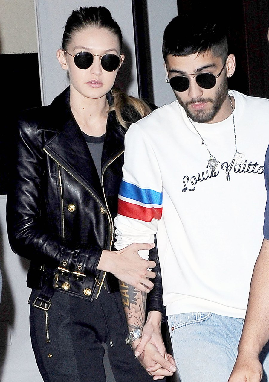 Gigi Hadid and Zayn Malik Holding Hands in 2016 Zayn Malik and Gigi Hadid Sweetest Quotes About Their Relationship