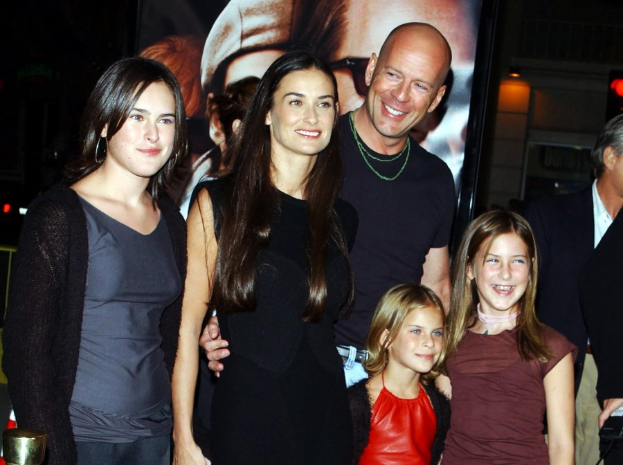 1 Demi Moore and Bruce Willis 2000