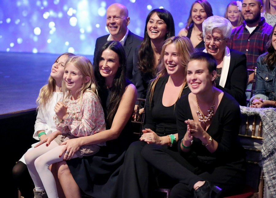 3 Demi Moore and Bruce Willis March 2015 Reunion at DWTS