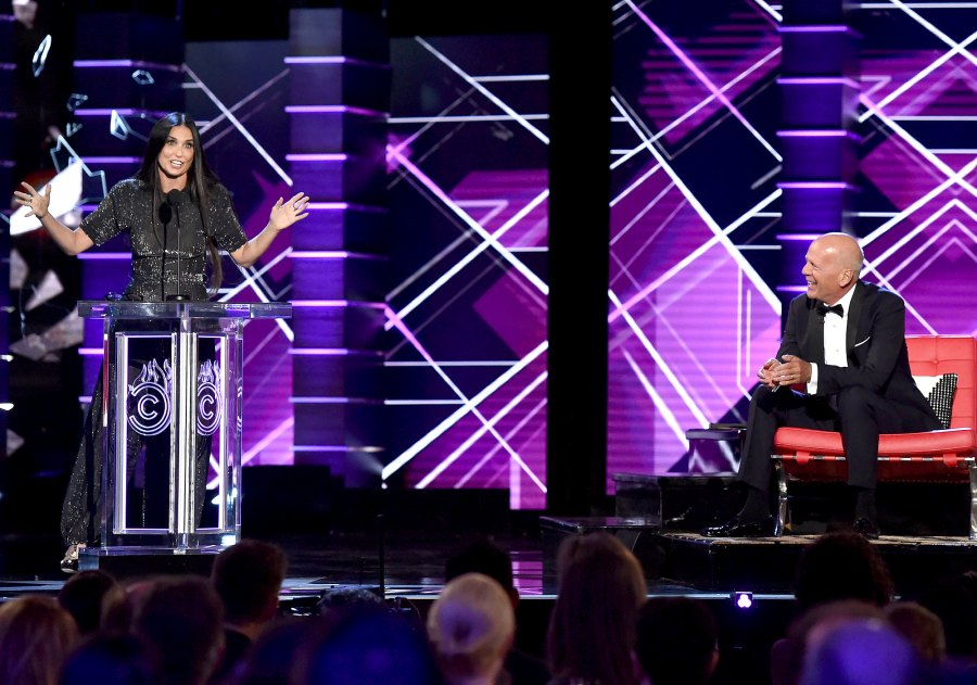 5 Demi Moore and Bruce Willis July 2019 Demi Roasts Bruce