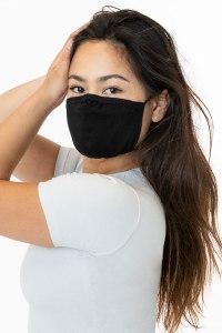Los Angeles Apparel 3 PACK Fashion Black Mask