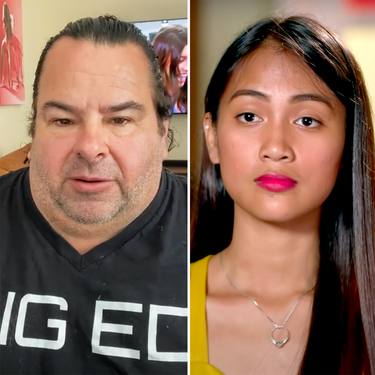 90 Day Fiance Big Ed Reacts to Rumors GF Rose Is Engaged to a Woman