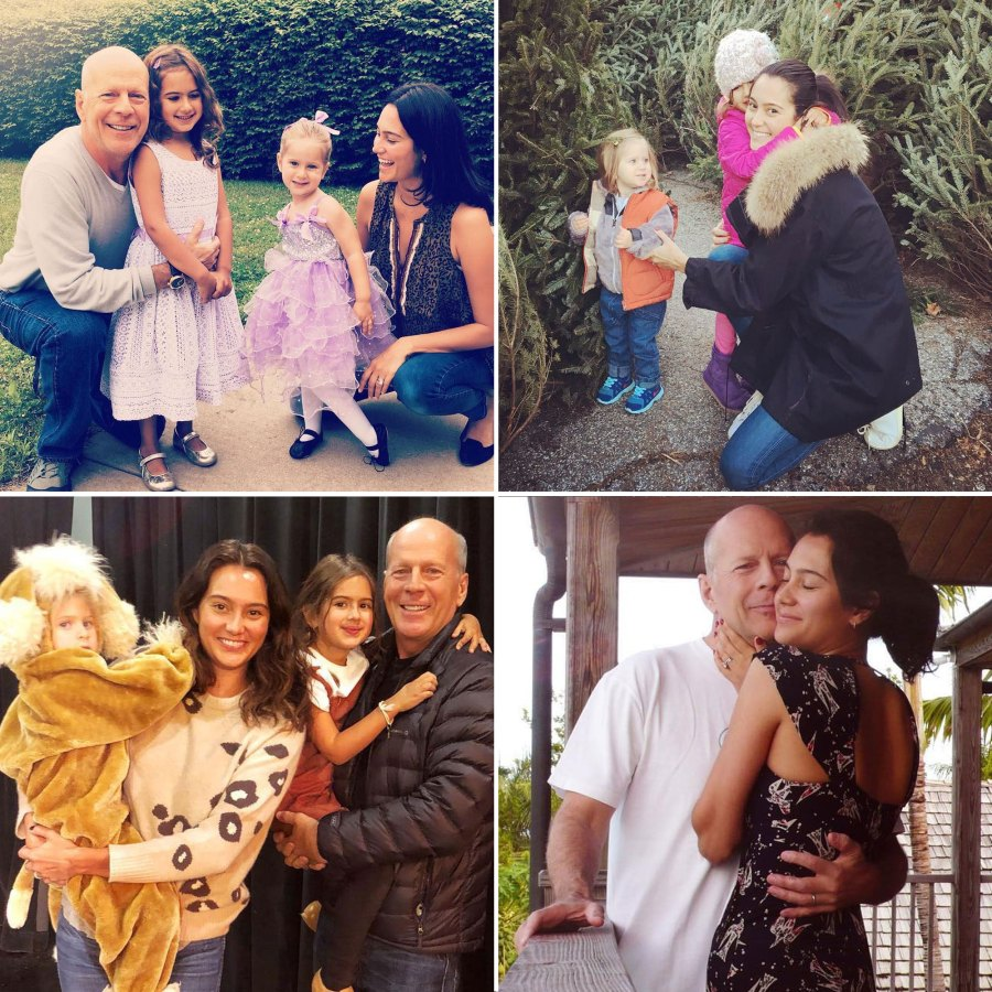 Emma Heming Willis Instagram Bruce Willis and Wife Emma Hemings Sweetest Family Moments