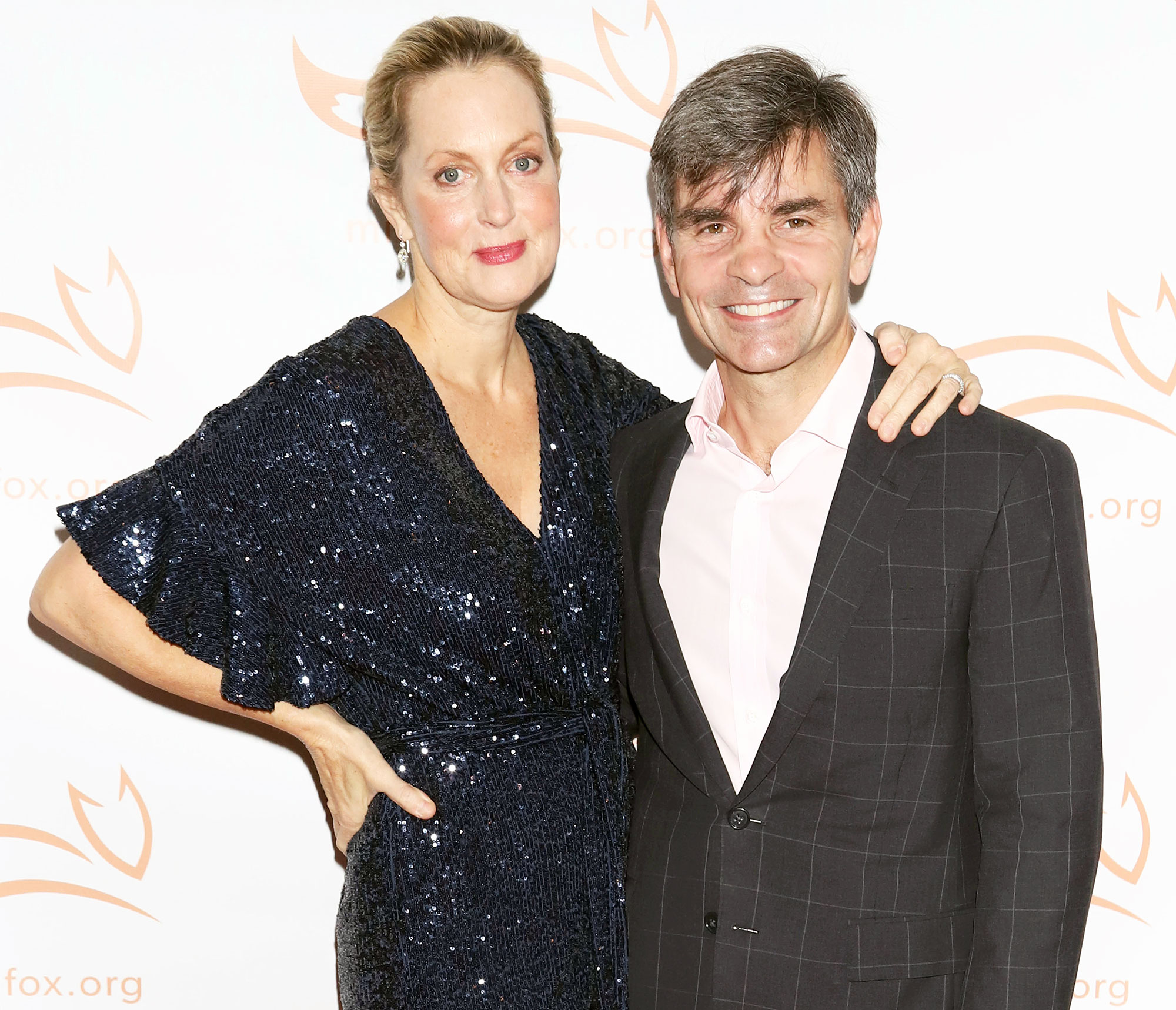 Ali Wentworth and George Stephanopoulos Ali Wentworth Actually Believed She Was Married to Jon Hamm After Binge-Watching Mad Men in Coronavirus Delirium