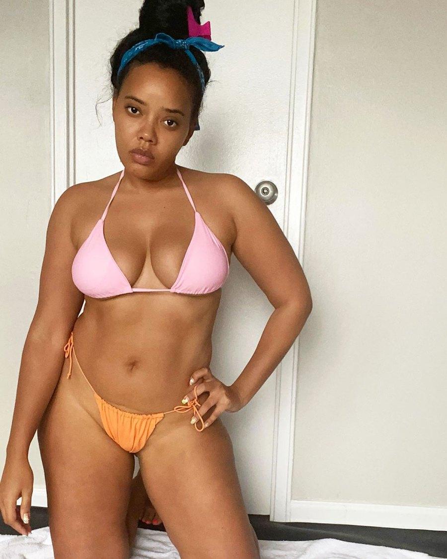 Angela Simmons Shares Body-Positive Message in a Bikini