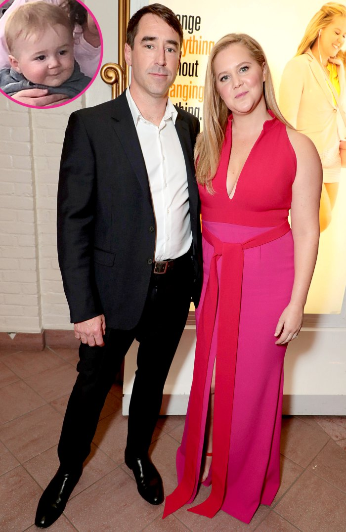 Amy Schumer Chris Fischer Officially Changed Their Son Gene Atell Name