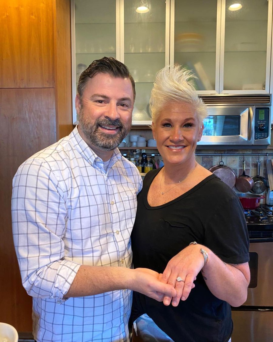 Anne Burrell Food Network Engaged to Stuart Claxton Instagram