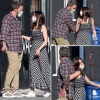 Ben Affleck, Ana de Armas Take Sweet Stroll While Wearing Masks