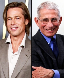 Brad Pitt Portrays Dr. Anthony Fauci In Cold Open on 'SNL at Home'