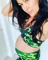 Brie Bella Bump Cute in Camo