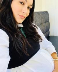 Brie Bella baby bump