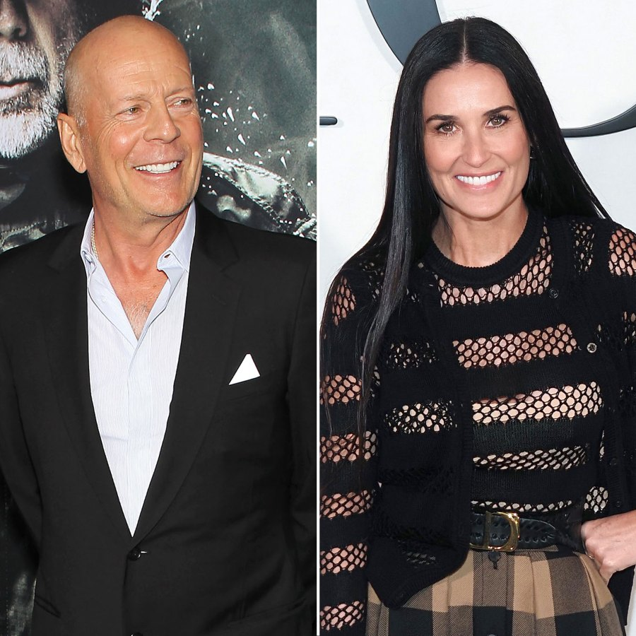 Bruce Willis and Demi Moore Have Been Quarantined With Their Daughters