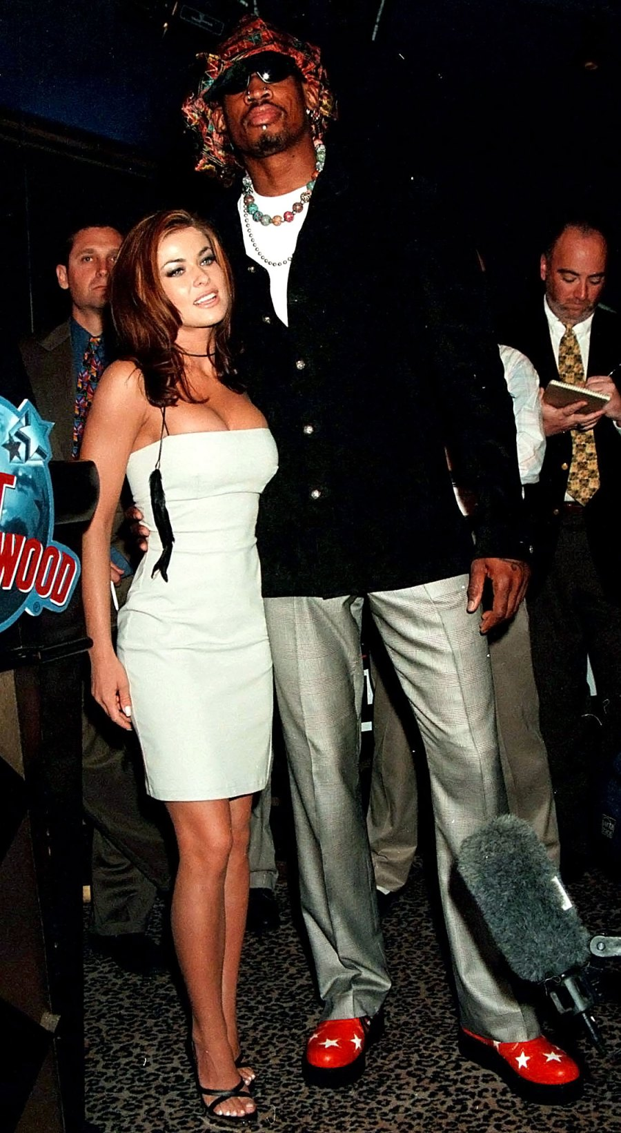 Carmen Electra Dennis Rodman Unconventional Relationship