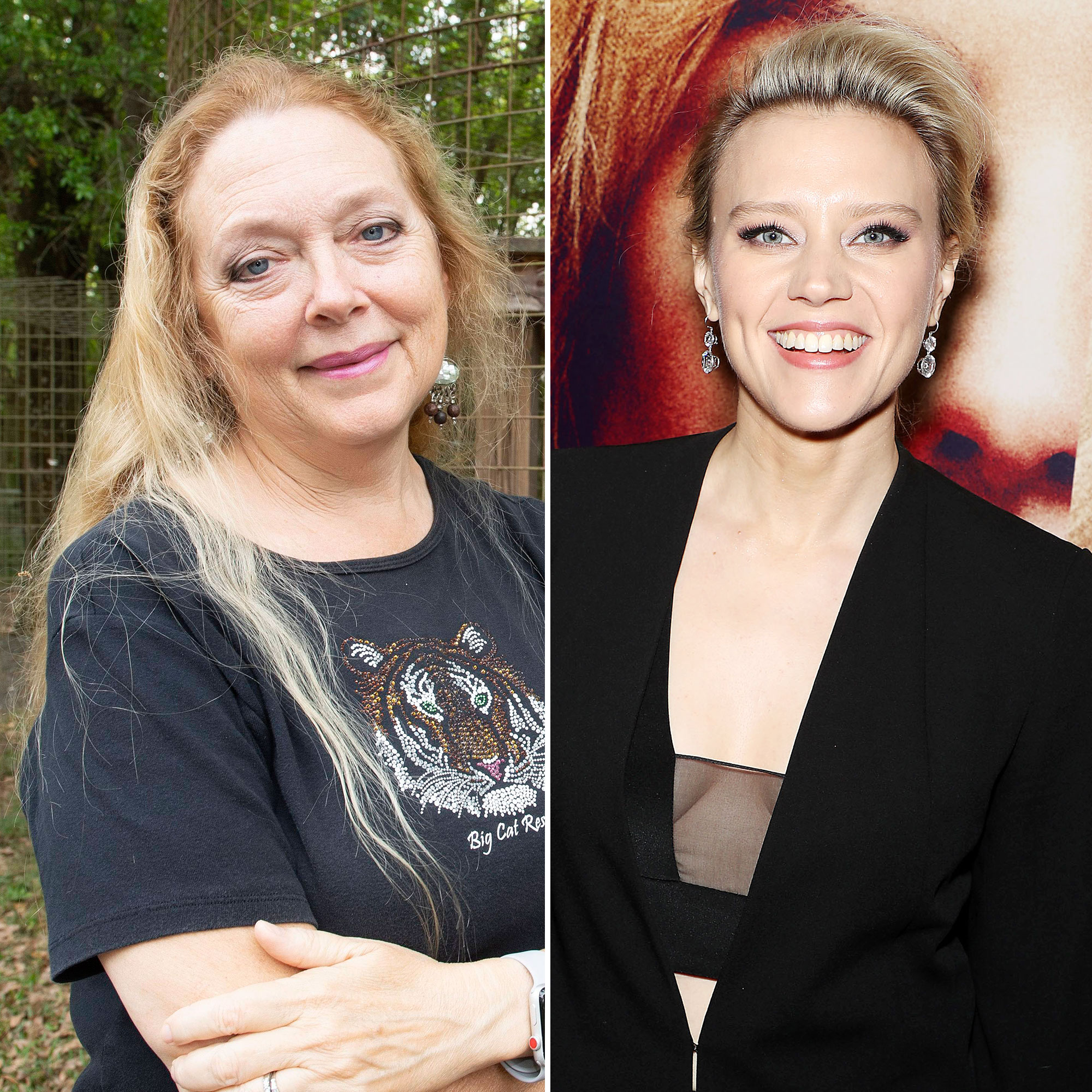 Carole Baskin Urges Kate McKinnon Not to Use Real Cats in Tiger King Biopic