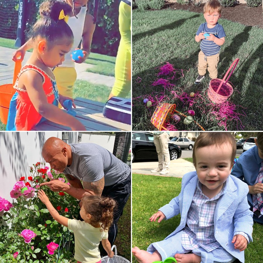 Dream Kardashian and More Celebrity Kids Doing Easter Egg Hunts